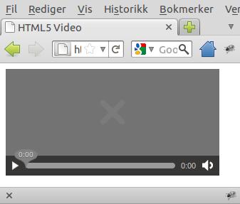 HTML5-video i Firefox 4